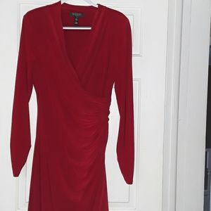 Ralph Lauren Red Dress s 12
